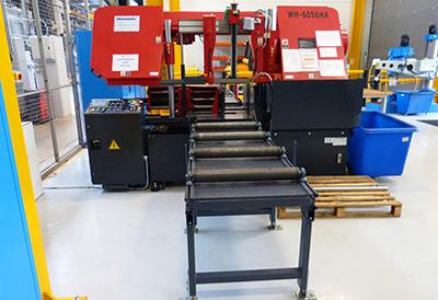 Nuclear AMRC installs twin-column bandsaw