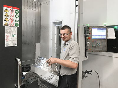 Pressco Precision – 25 years of investing in Haas