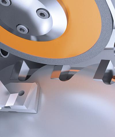 Single set-up processing of circular saw blades