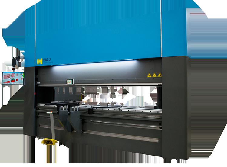 High-accuracy press brake from Haco Kingsland