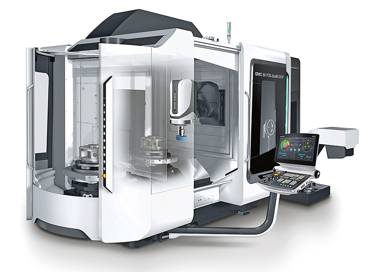 Milling, turning and grinding in a single set-up