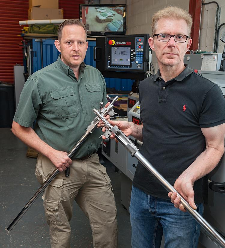 ProTurn lathe boosts gunsmithing service