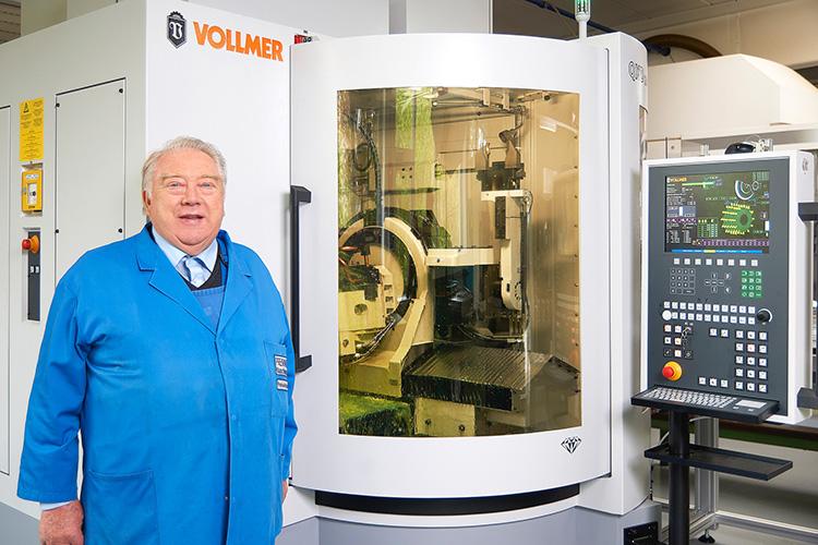 Prewi relies on Vollmer machines