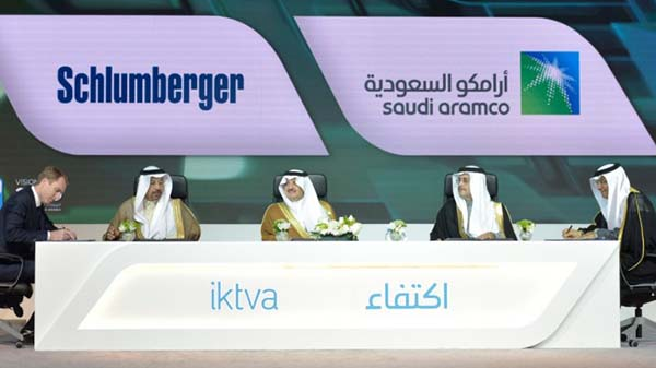 Saudi Aramco signs deal with Schlumberger