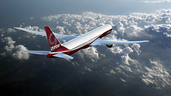 Solvay composites for Boeing 777X