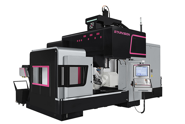 Double-column machines extend range