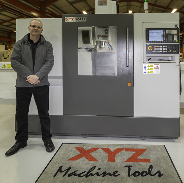 New face at XYZ Machine Tools