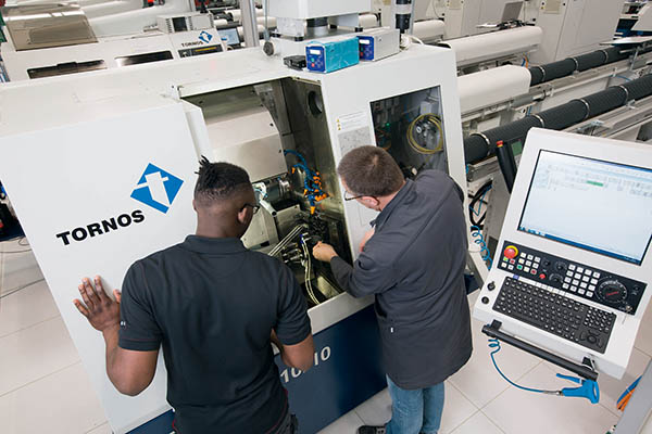 Polydec relies on Tornos technology
