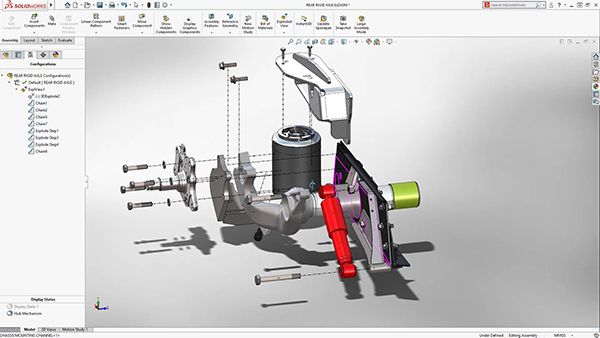 SolidWorks 2018 available from Dassault