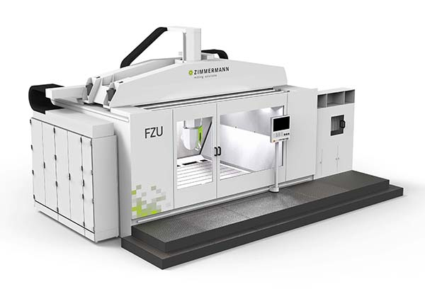 Five-axis portal mill for prototypes
