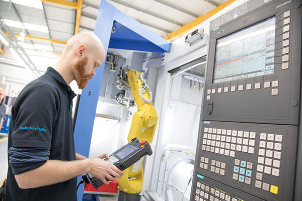 £3.5m machining facility takes next step