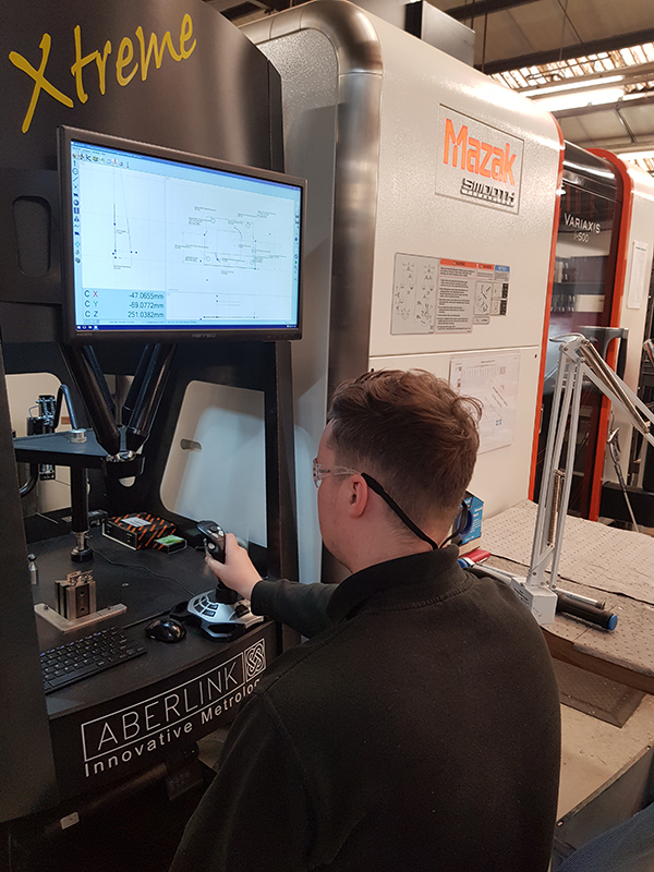 Aberlink provides shop-floor accuracy