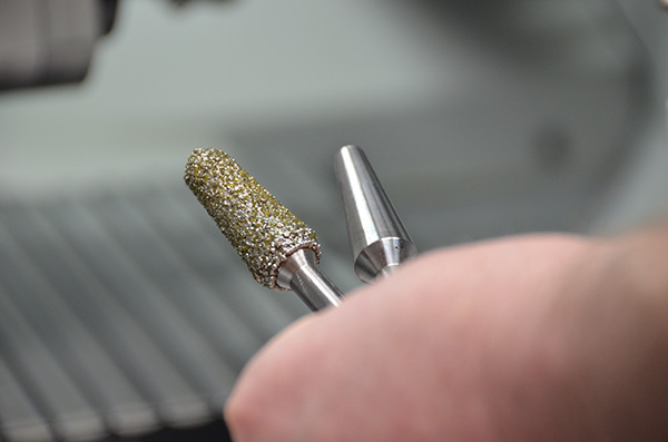 Diamond investment for tooling business