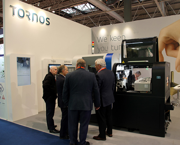 Tornos secures orders at MACH 2018