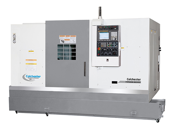 Typhoon CNC turning centres unveiled