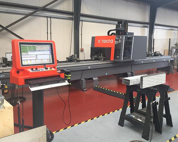 Fabricator opts for heavy-duty machine