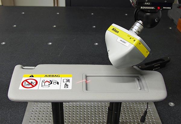 Laser scanning halves inspection times