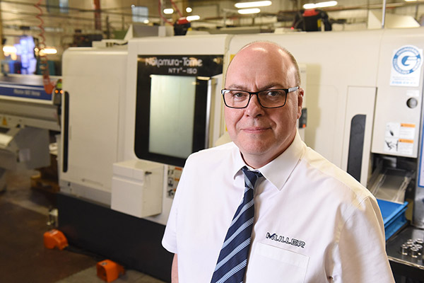 Machine shop takes spending to £1m