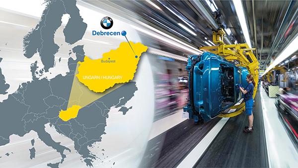 €1bn BMW plant