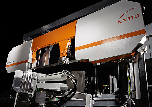Double mitre cutting bandsaw unveiled