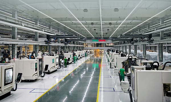 Machine tool factory expands