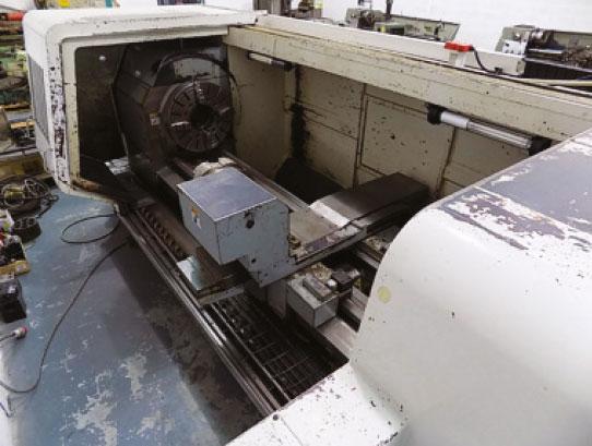 AXE & STATUS Tuscan TLA29 X 4000 CNC LATHE