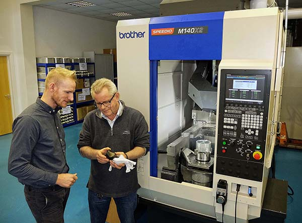One machine does work of two at R&D facility