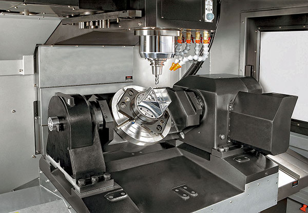 Entry-level five-axis machining centre