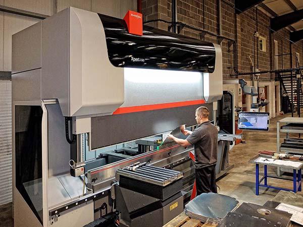 Subcontractor upgrades press brake capacity