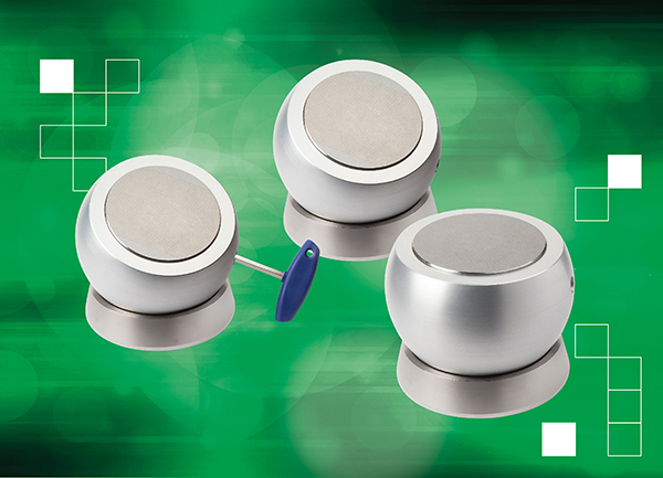 Magnetic clamping balls simplify work holding