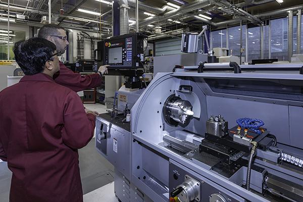University installs seven machine tools