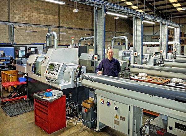 Sliding-head lathes promote growth