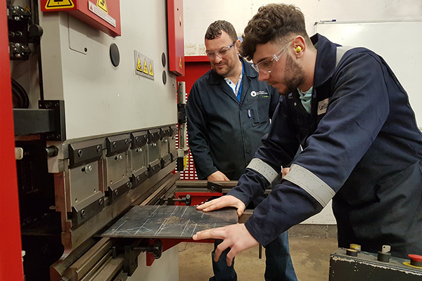 College apprentices get to experience industry