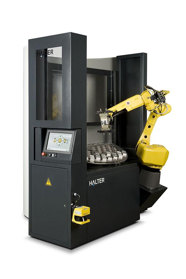 Manufacturer goes robotic