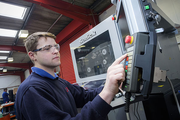 Faster wire-EDM cutting at Cowie