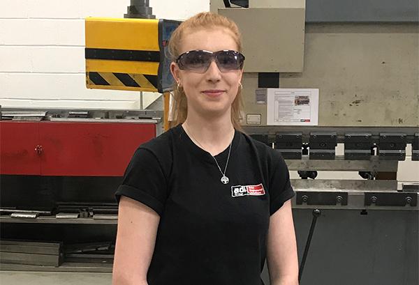 Praise for female apprentice