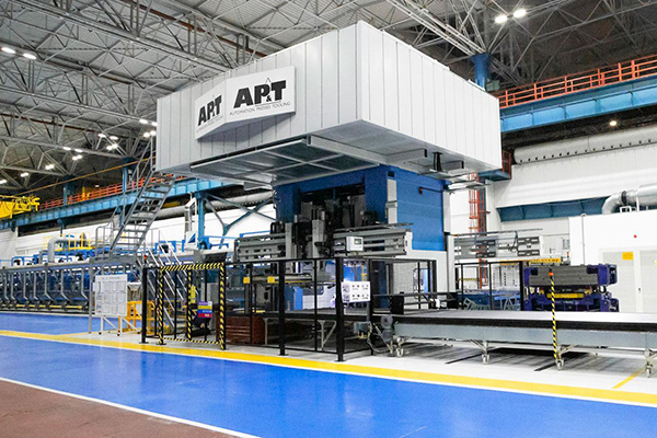 AP&T installs 100th press hardening line