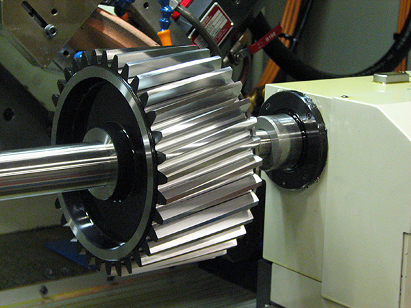 Gear-grinding centre installed