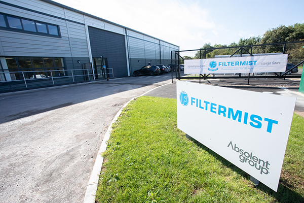 Filtermist  grows distribution