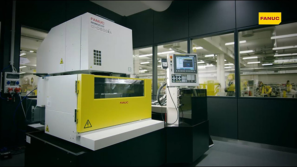 FANUC EDMs displayed at EMO 2019
