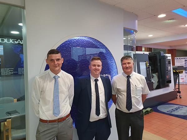 Dugard appoints sales trio