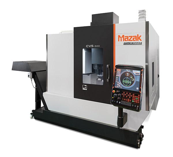 Mazak five-axis machine set for UK debut