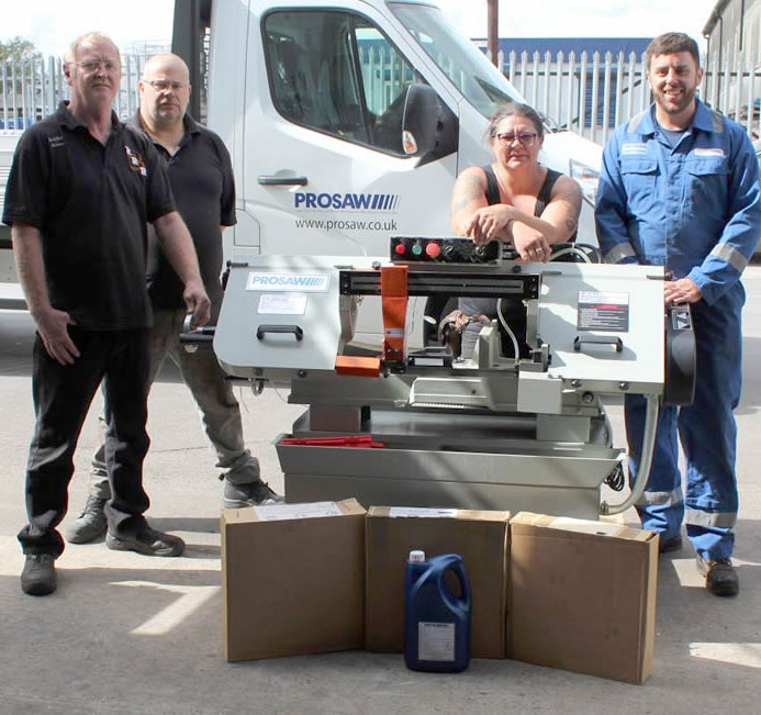 Prosaw supports Rusty Road 2 Recovery