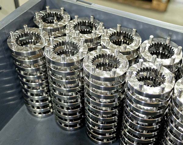HRS uses lathe for gear skiving