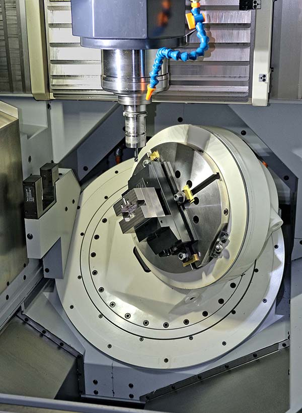 Hard milling of moulds cuts lead times by 40%