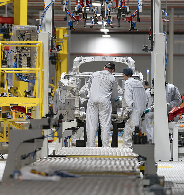 Aston Martin Lagonda opens plant