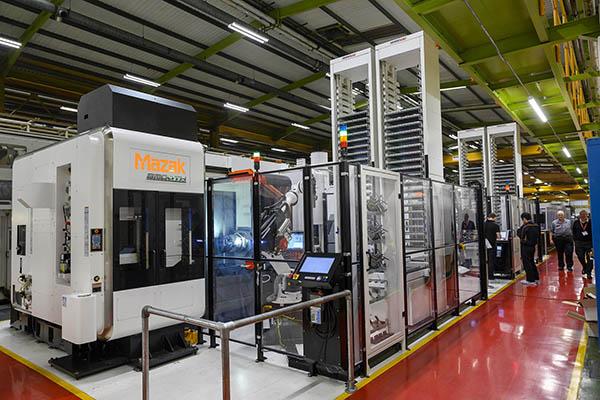 Mazak posts strong machine orders
