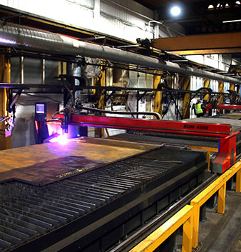 PP Profiles installs colossal cutting machine