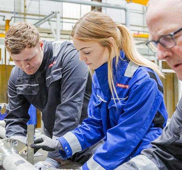 Record-breaking apprentice intake