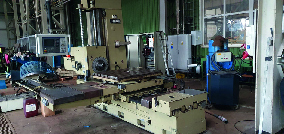 Boring machine Union BFT 90/5